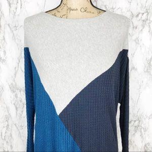 VELVET BY GRAHAM & SPENCER color blonde sweater